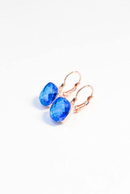 Earring - Royal blue