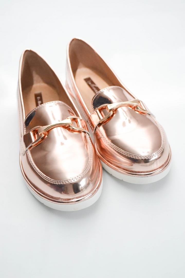 b183c2bd2e9 Metallic Loafer
