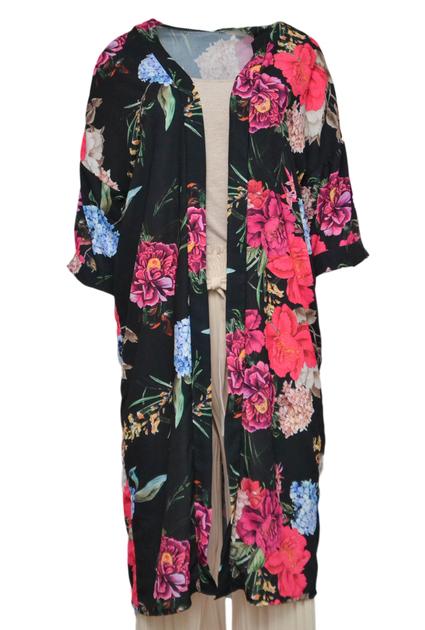 Kimono Black Rose