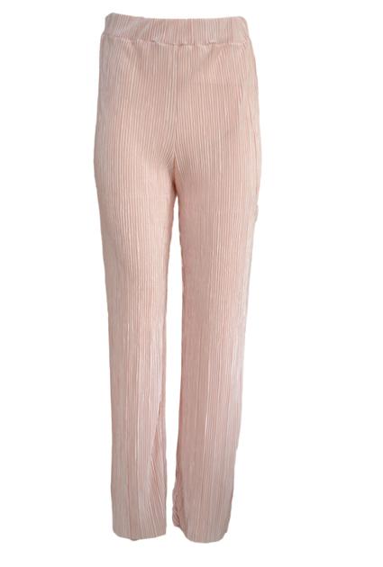 Plisse Pants Shine - PINK