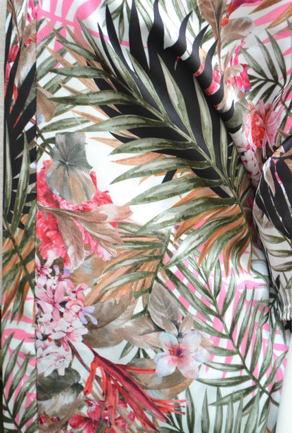 Kimono Jungle Short -