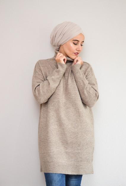 Sweater Jane Wool - TAUPE