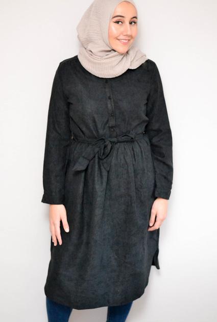 Dress Maggie - BLACK