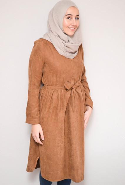 Dress Maggie - CAMEL