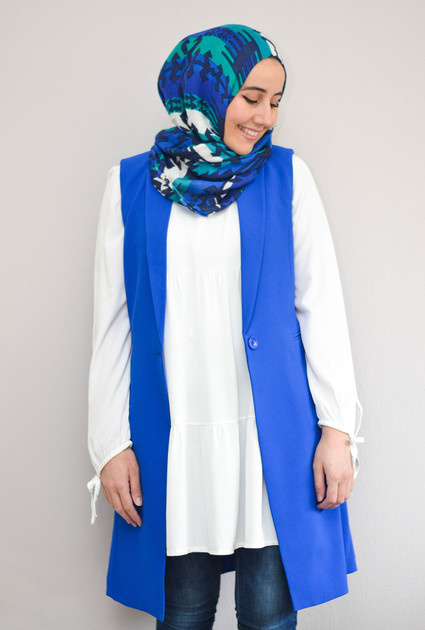 Gilet Classy - BLUE