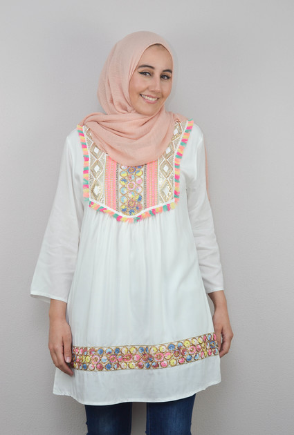 Tunic Marra - WHITE