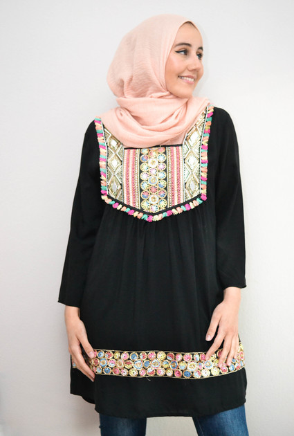 Tunic Marra - BLACK