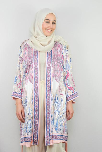 Kimono Paisley - ROZE