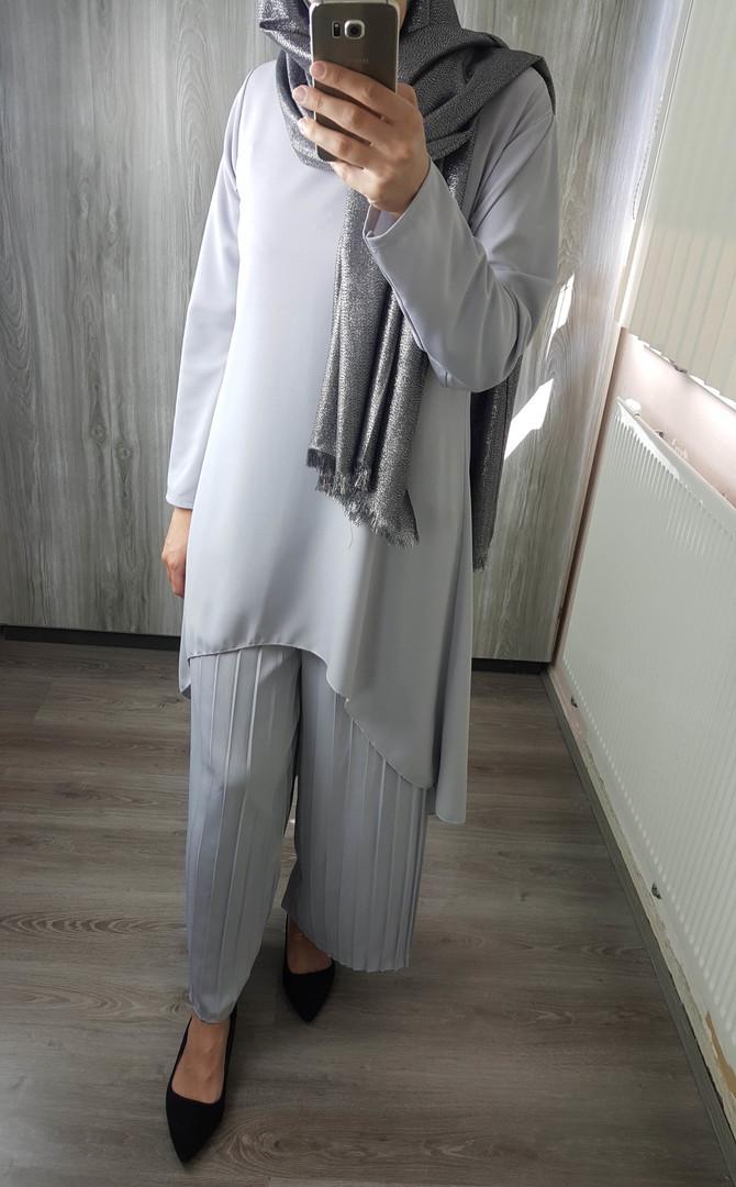 Ferganza Ferganza Womens Fashion Suit Donna Suit Donna Grey