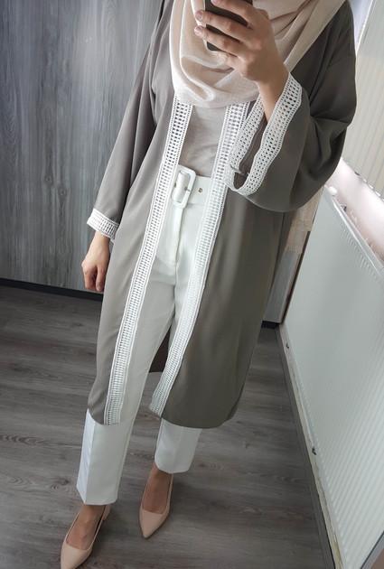 Kimono Sienna - TAUPE