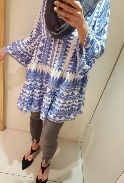 Tunic Jenn - BLUE