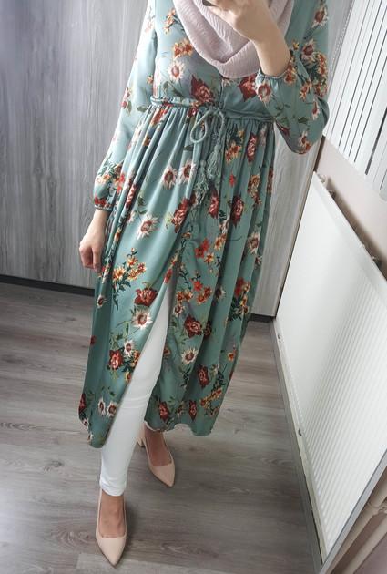 Dress Nyla - GREEN