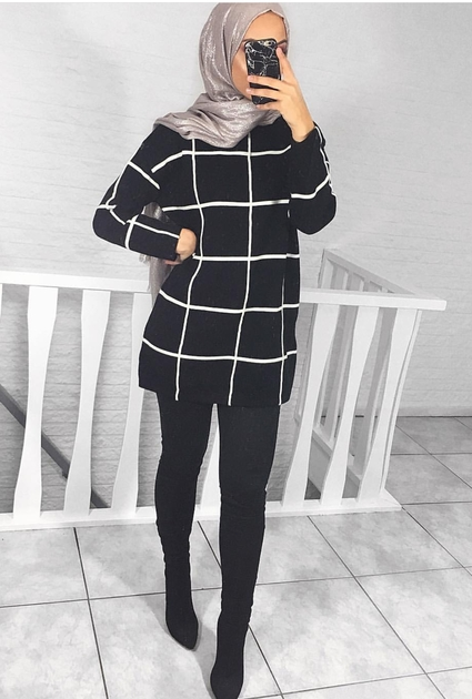 Sweater Jada - BLACK