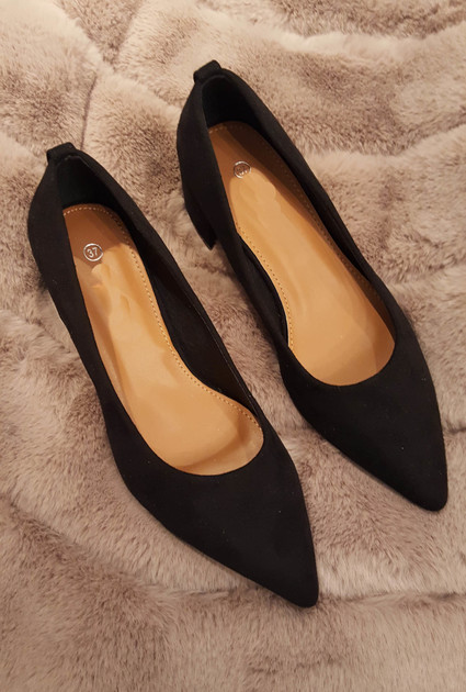 Heels Daisy - BLACK