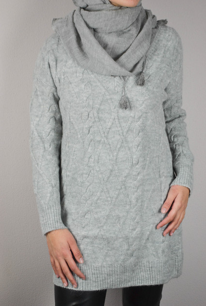 Sweater Delilah - GREY