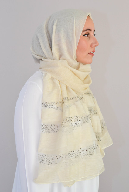 Shawl Silk Stone