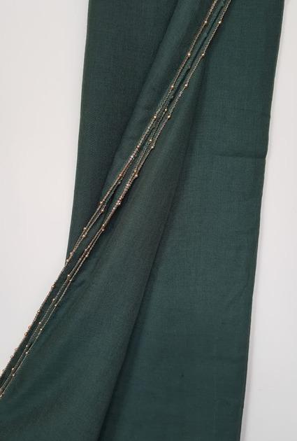 Shawl Chain Gold - DARK GREEN
