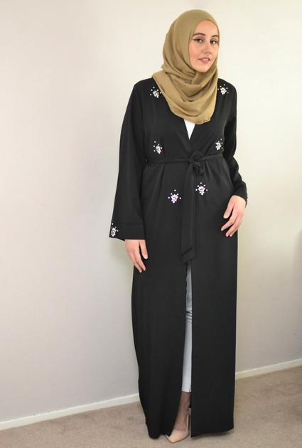 Kimono Crystal - BLACK