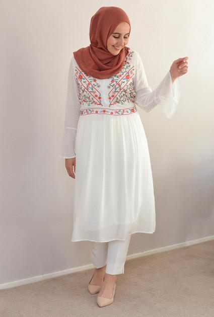 Dress Alice - WHITE