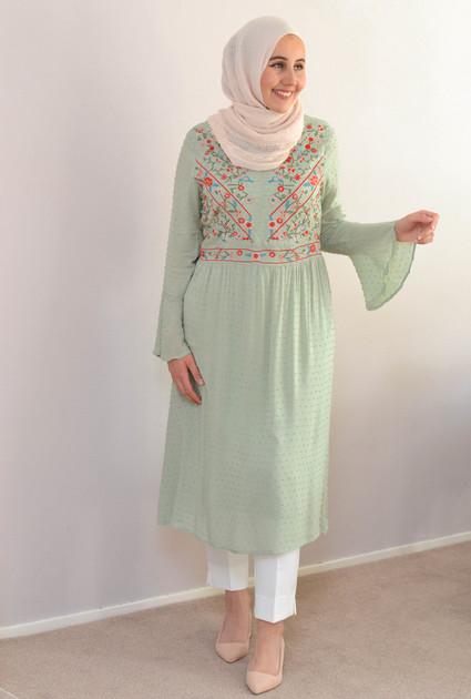 Dress Alice - MINT GREEN