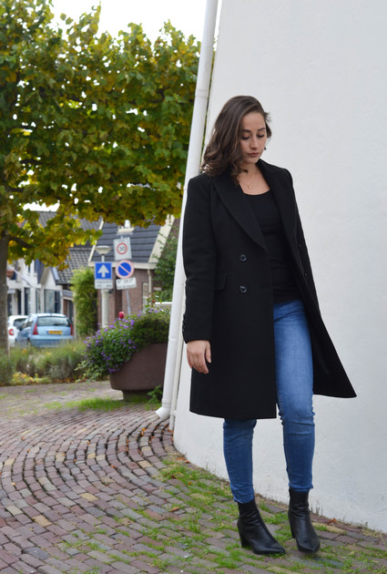 Coat Nöwel - BLACK