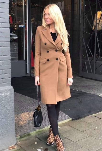 Coat Holly - CAMEL