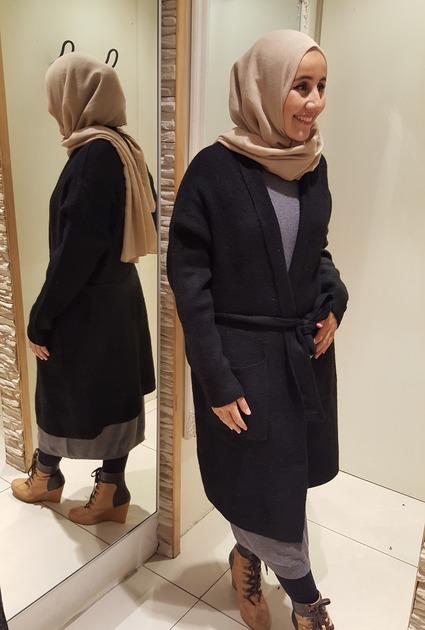 Vest Cozy - BLACK