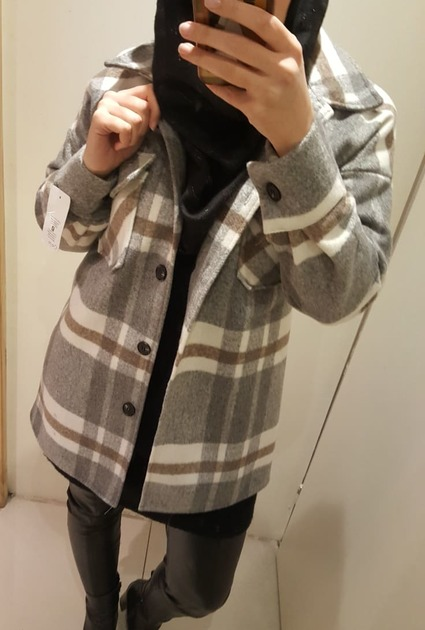 Jacket Eva - GREY
