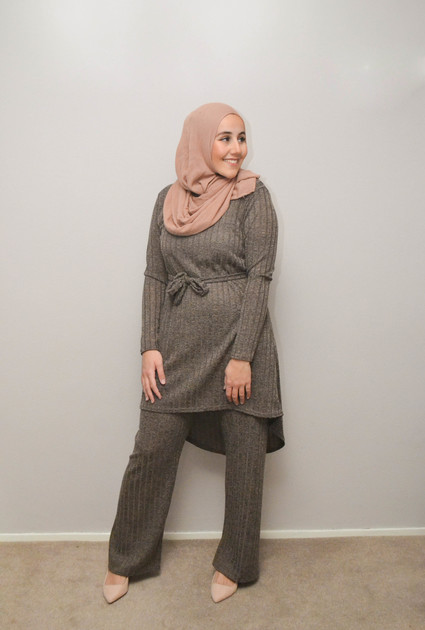 Suit Gloria - TAUPE