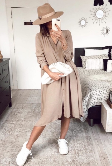 Blouse Mabel - TAUPE