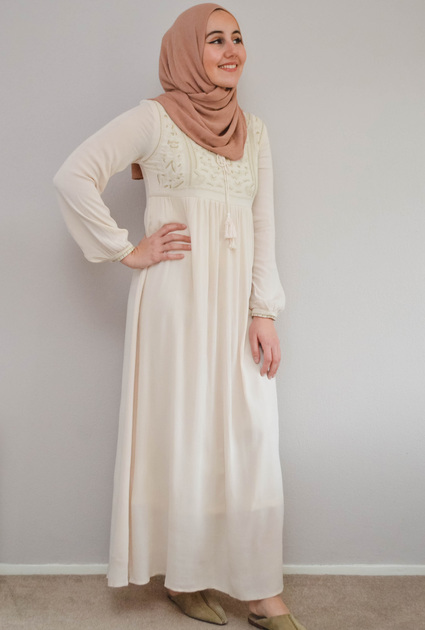 Dress Alya - CREAM