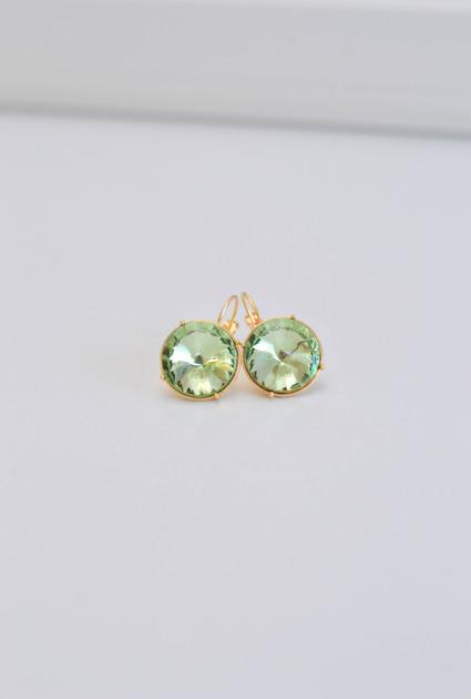 Earrings Eva - GREEN