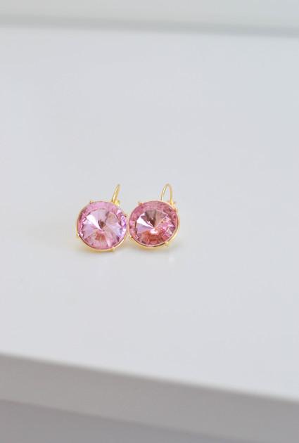 Earrings Eva - PINK