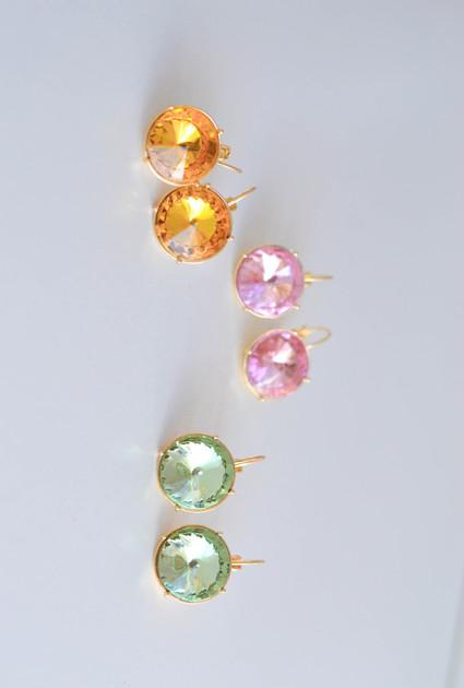 Earrings Eva - YELLOW