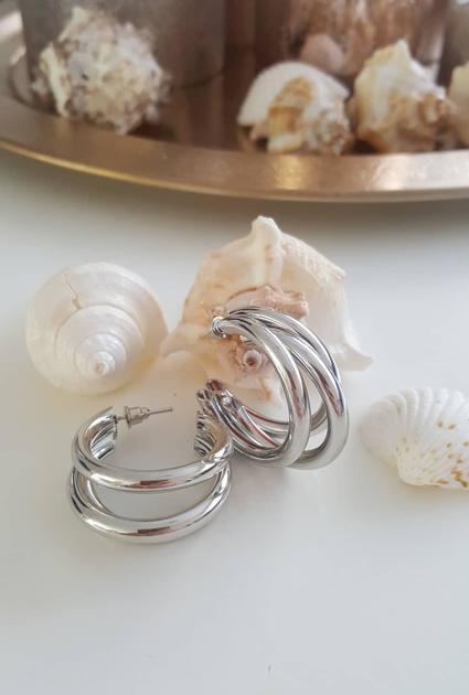 Earrings Lisa - Silver