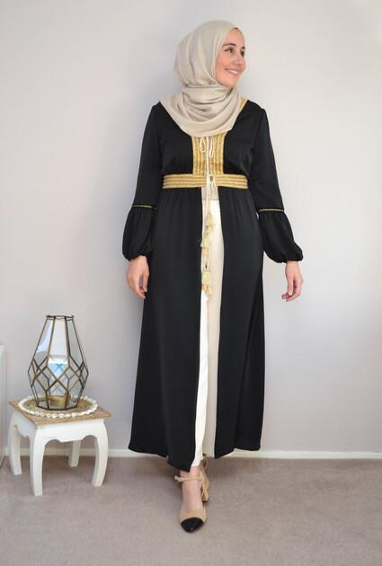 Kimono Daliah - ZWART