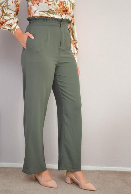 Pantalon Noreen - GROEN