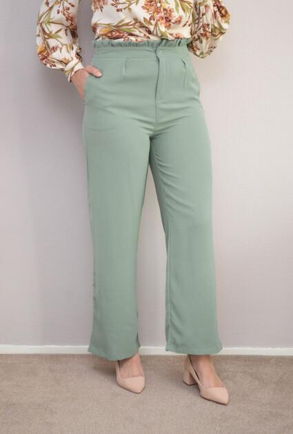 Pantalon Noreen - MINT GROEN
