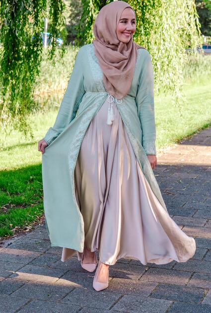 Kimono Dorah - MINT GROEN