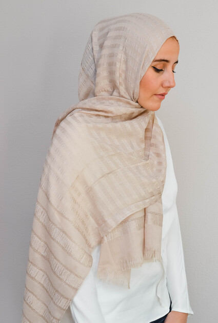 Shawl Sheikha - CREAM