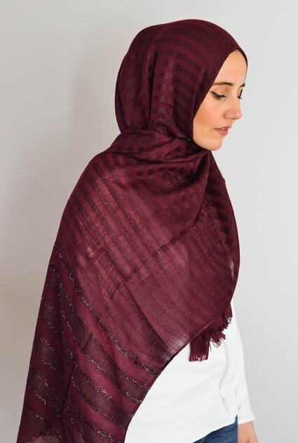 Shawl Sheikha - BORDEAUX