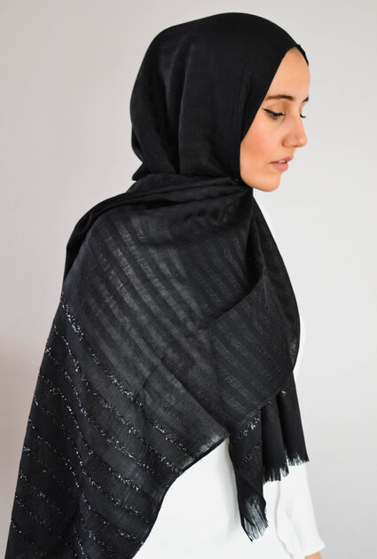 Shawl Sheikha - BLACK