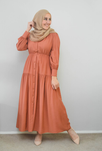 Dress Eden - RUST