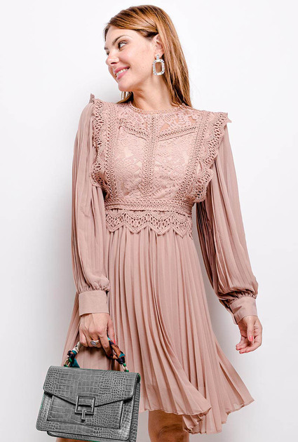 Dress Elodie - NUDE