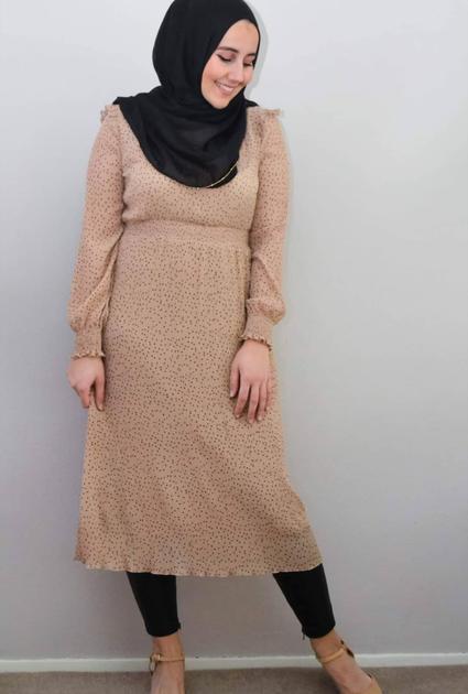 Dress Liza - NUDE