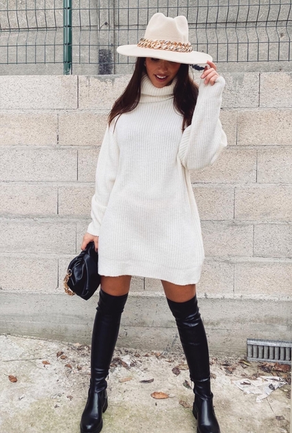 Sweater dress Estelle