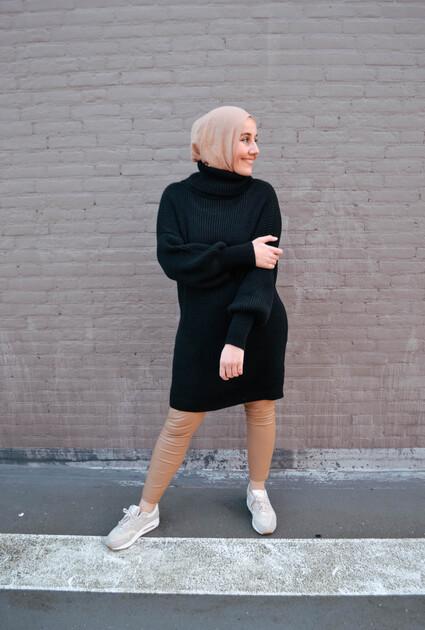 Sweater Haley - ZWART