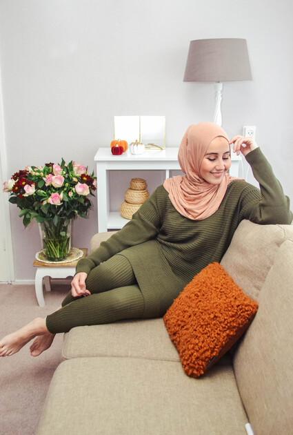 Comfy set Amber - Groen