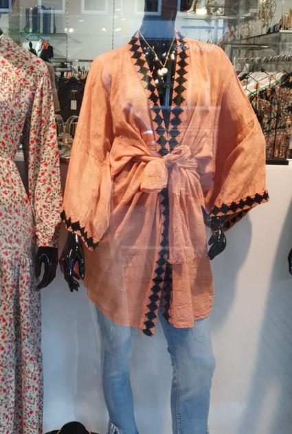 Kimono Aztec - TERRACOTTA