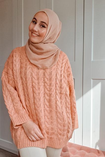 Sweater Yara - PERZIK